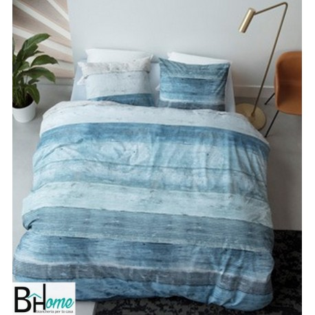 completo Letto Matrimoniale Lived Blue Beddinghouse