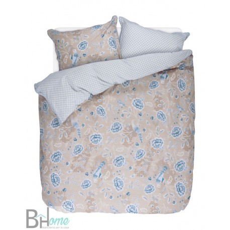 Completo Letto Matrimoniale Indian Roses Khaki Pip Studio