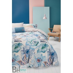Completo Letto Matrimoniale Rose Dust Blue Oilily
