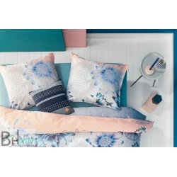 Completo Letto Matrimoniale Sunflowers Blue Oilily