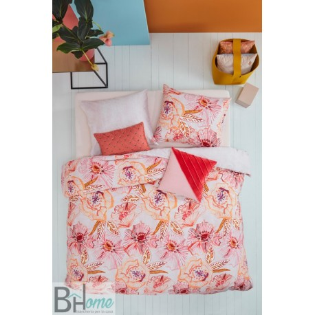 Completo Letto Matrimoniale Rose Dust Red Oilily